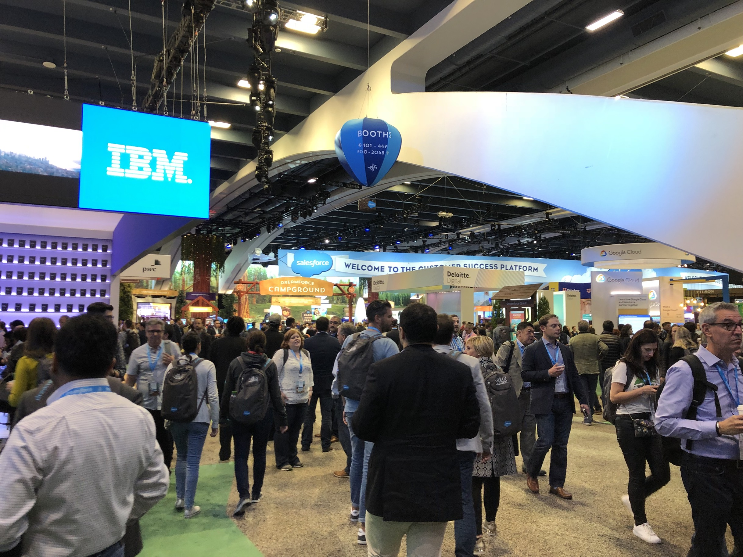 Comparing IBC '18 and Dreamforce '18: Is the broadcast industry embracing the 4th Industrial Revolution?